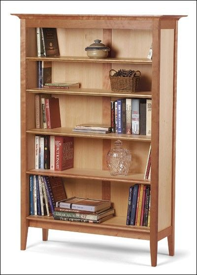 Frame-and-Panel Bookcase Project Plan (Print Plan ...