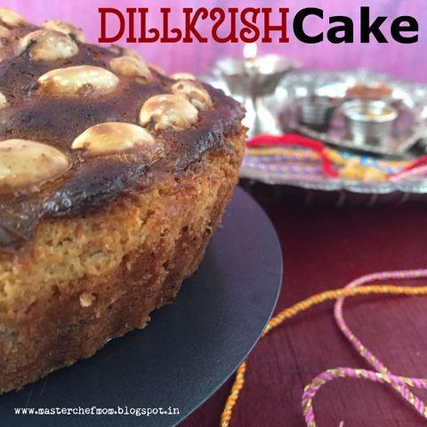 MASTERCHEFMOM: DILLKUSH Cake | A Special Eggless Cake Recipe | Ho...