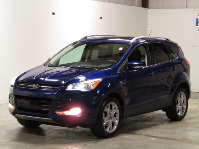 Certified 2016 Ford Escape FWD Titanium for sale in West Chicago, IL 60185: Sport Utility Details - 470328598 - Autotrader