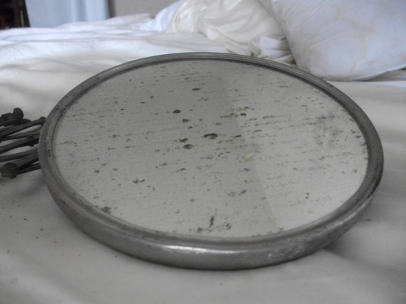 Antique Extendable SHAVING MIRROR from by flagstaffsfinest on Etsy, $40.00