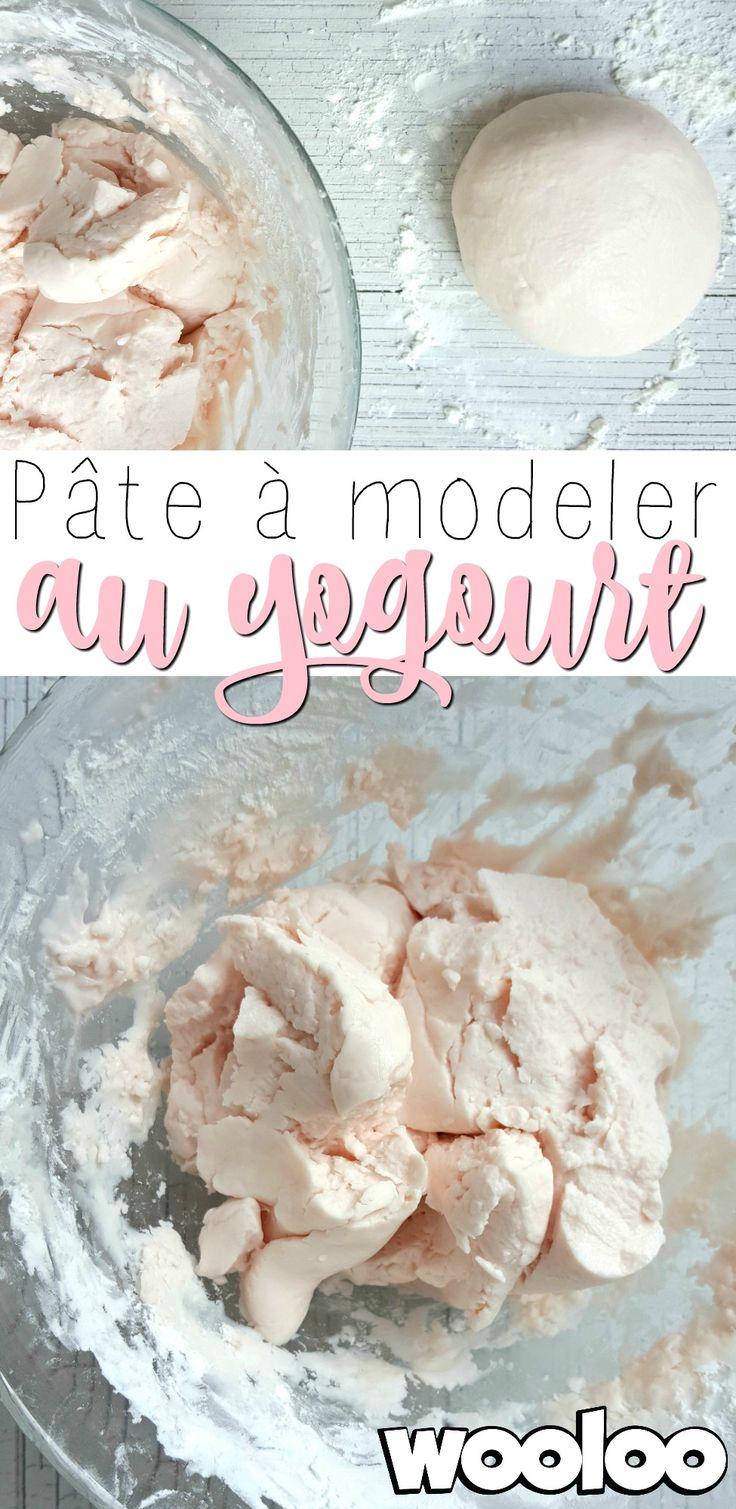 Voici une recette de pâte à modeler au yogourt comestible qui sent juste trop bon!