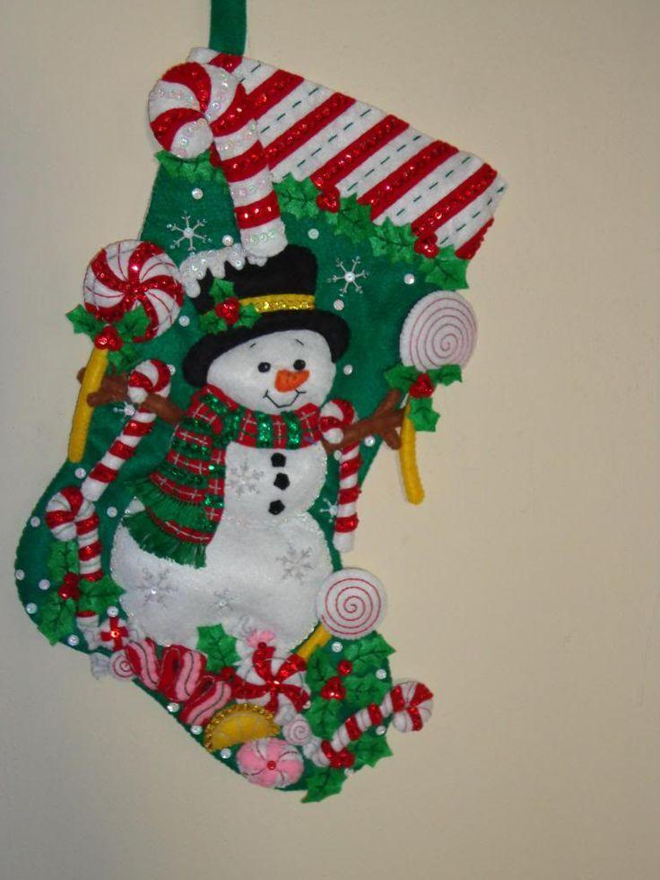 moldes botas navideñas - Buscar con Google