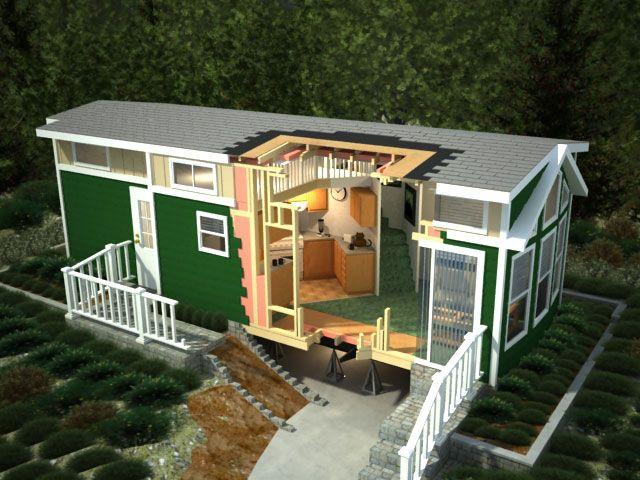 Park model homes green