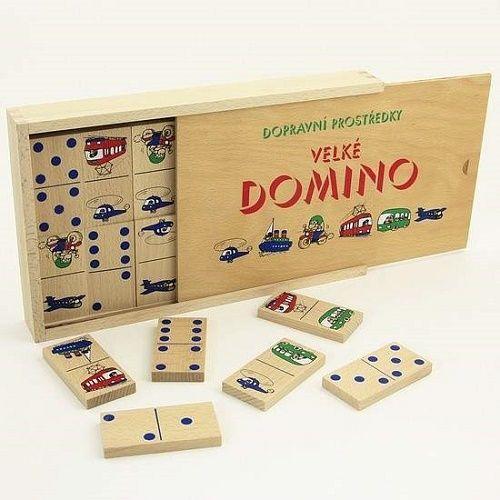 Stolové hry | Domino | Domino Dopravné prostriedky | www.mileobchod.sk