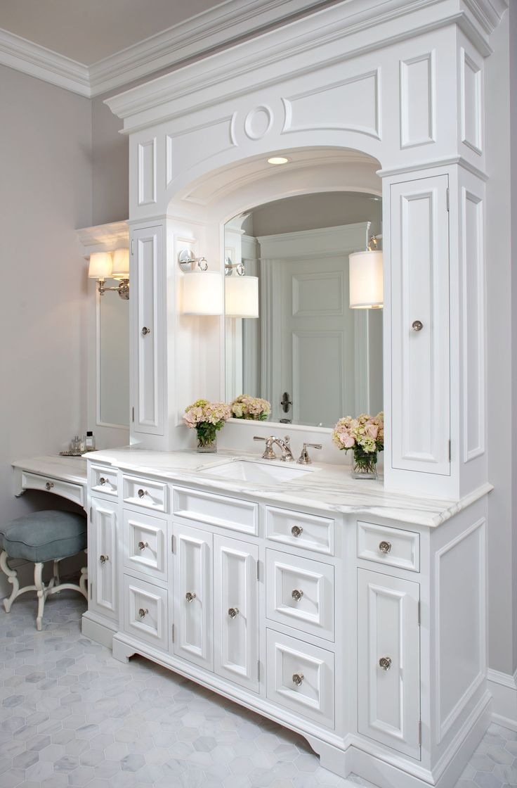 1000 images about villa master bath on pinterest traditional bathroom medicine cabinets and Luxury bathroom vanity design