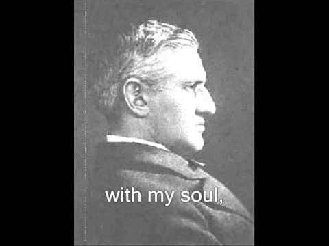 ▶ When Peace Like A River (hymn with words and music) - Horatio G. Spafford - YouTube. This song was made even more poignant when I discovered that Mr. Spafford was related to Grace Livingston Hill. She writes about him in the Marcia Schyler books, I believe. The story behind this hymn and this family is very beautiful.