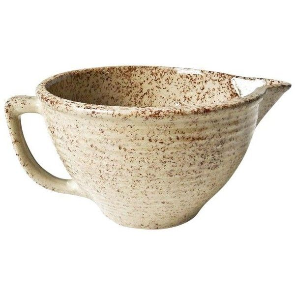 Vintage Western Stoneware Maple Leaf Mixing Bowl ($75) ❤ liked on Polyvore featuring home, kitchen & dining, kitchen gadgets & tools, kitchen accessories, maple leaf bowl, stoneware bowl, stoneware mixing bowl, colored mixing bowls and stoneware mixing bowls