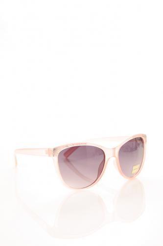 Glitter Cornered Cat Eye Sunglasses PINK