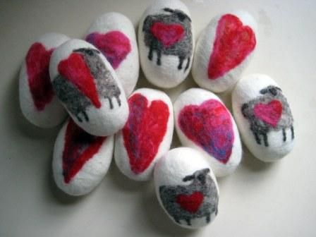 How to Needle Felt Soap | ... Soap in Sheep's Clothing' …aka felted soap…with a heart-felt