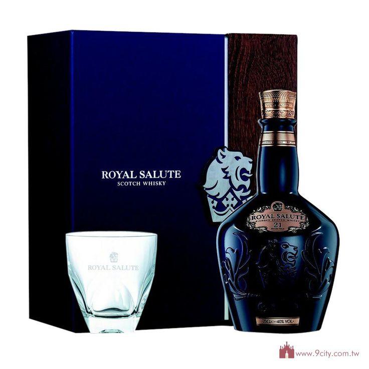Royal Salute 皇家禮炮 【春節2016】蘇格蘭 皇家禮炮 21年 調和威士忌 精裝版 禮盒:洋酒城洋酒量販連鎖
