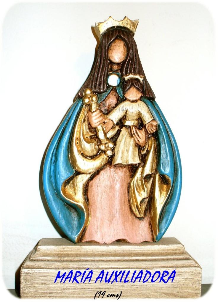 Ma.Lea Cerdá - Virgen María Auxiliadora.