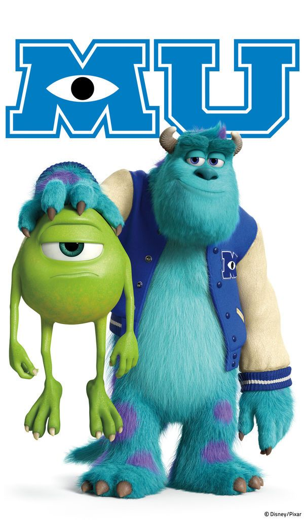 Mike and Sully by Monsters University | DecalGirl