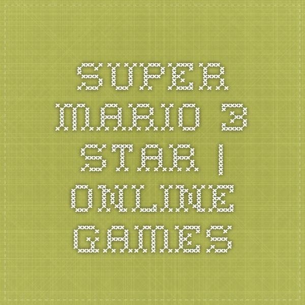 Super Mario 3 Star | Online Games
