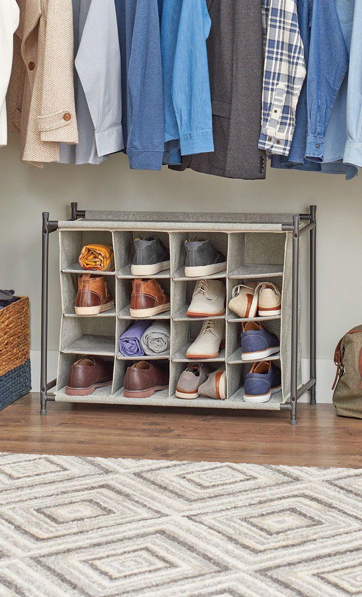 Charleston Shoe Rack Closet Organization