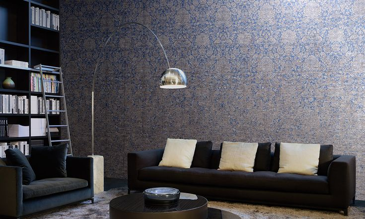 Gradient | Mahlia, a wallcovering with metallic effects | Collections | Arte wallcovering