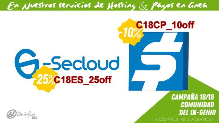 Promociones e-Secloud y CentroPago Marzo - Junio 2018