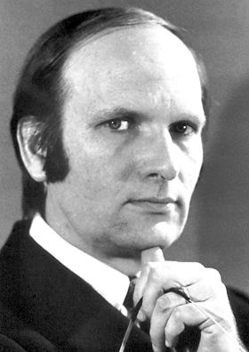 JOHN ROBERT SCHRIEFFER  (1931– ) shared the 1972 Nobel Prize in physics with faculty member John Bardeen and postdoctoral fellow Leon Cooper for their work at the U of I on the theory of superconductivity. Schrieffer received a Master of Science in 1954 and a Ph.D. in 1957 from the University and served on the physics faculty from 1959 to 1962.
