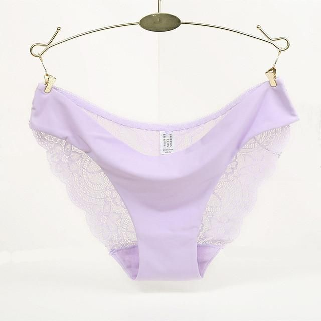 8a506b018100 Hot sale! l women's sexy lace panties seamless cotton breathable panty  Hollow briefs Plus Size girl underwear