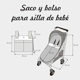 Colours for Baby, Patrones y Tutoriales de Costura : Cose conmigo un saco universal para silla de paseo de bebé