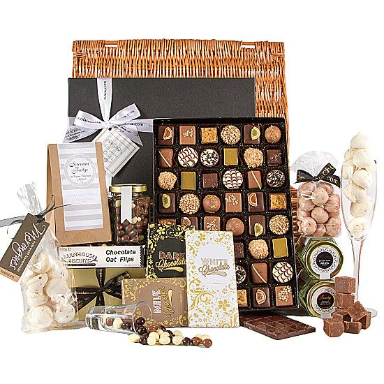 The Indulgence Chocolate Hamper http://www.serenataflowers.com/en/uk/hampers/next-day-delivery/product/105857/the-indulgence-chocolate-hamper?refPageID=5189&refDivID=5|center|product-set|category-list|5x5|1+++4|2|product|105857|image|140x140|standing|5|2|standard|