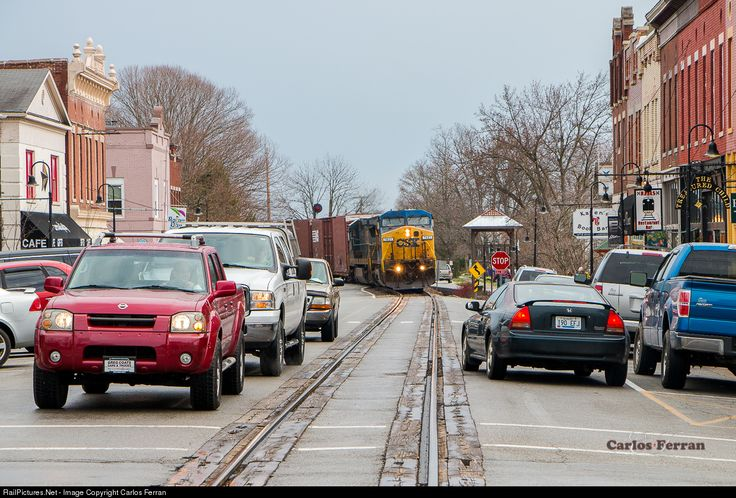 RailPictures.Net Photo: CSXT 7821 CSX Transportation (CSXT) GE C40-8W (Dash 8-40CW) at LaGrange, Kentucky by Carlos Ferran