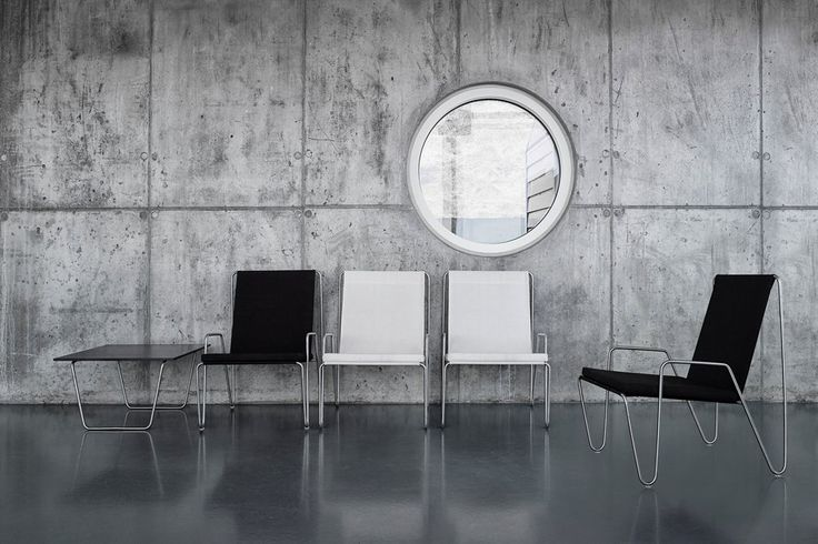 Bachelor chair by Verner Panton in white and black.  #montana#danish #design #furniture #storage #white #black #bachelor #chair #verner #panton