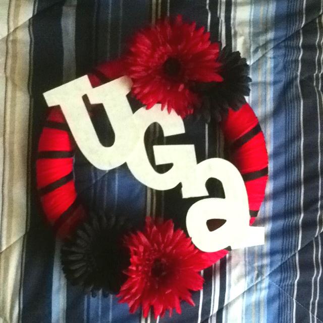 Georgia Bulldogs Wreath