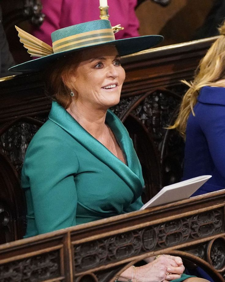 Sarah Ferguson's Seat Today at Princess Eugenie's Wedding