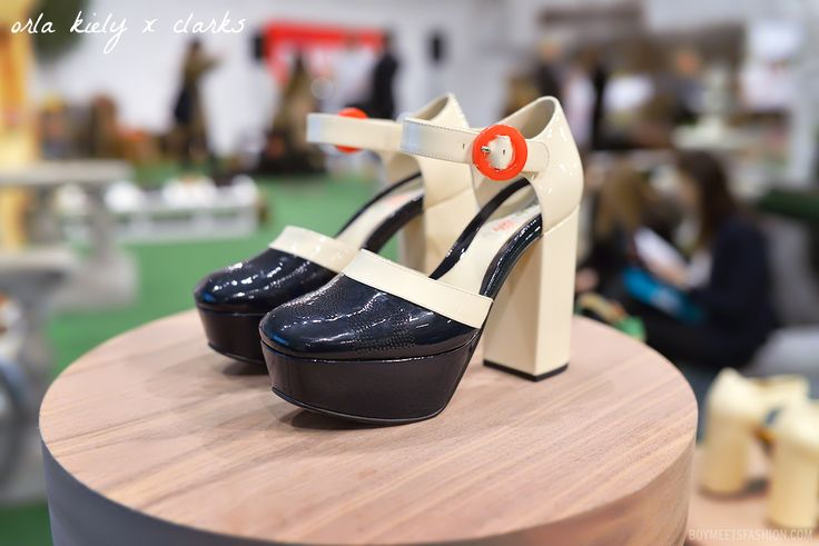 A closer look at Orla Kiely x Clarks shoes for spring 2014