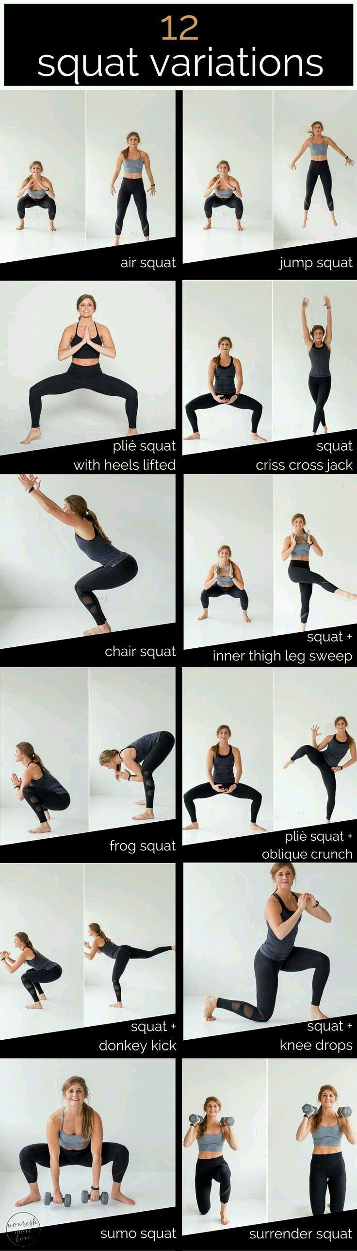 Various Squats | Legs
