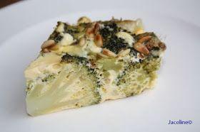 Gezond leven van Jacoline: Broccoli taart