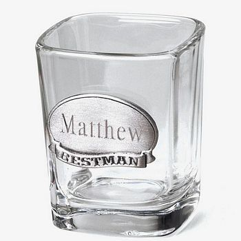 Searching for personalized shot glasses?  Custom shot glasses are a great gift idea for your wedding party including the best man, groomsmen, usher, or anyone else who has played a special role in your big day.