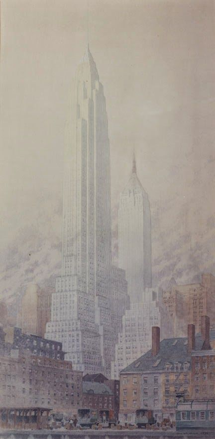 John Wenrich, Architectural Illustration.