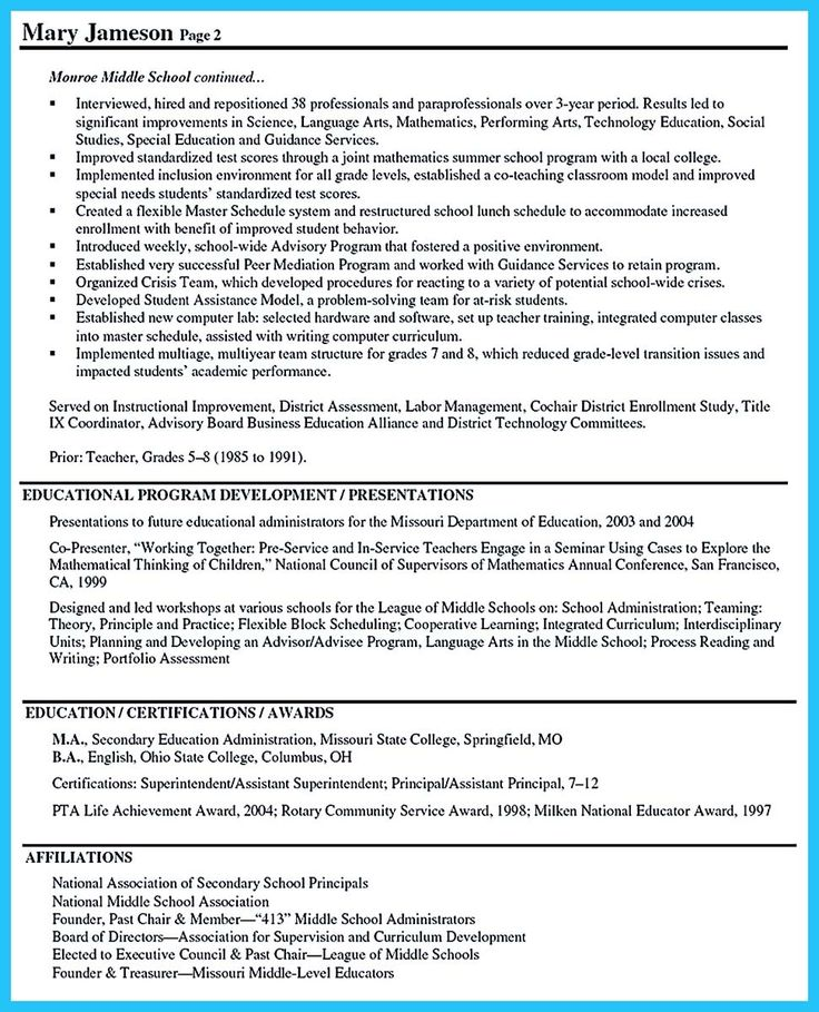 Superintendent Resumes Education Resume Samples Resume Resumer Example  Excellent Resume Outline Example Examples ...