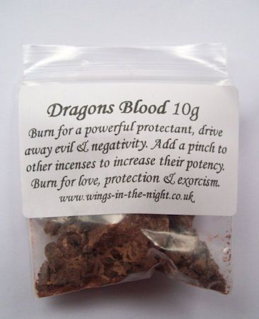 Dragons Blood Incense Resin for Protection
