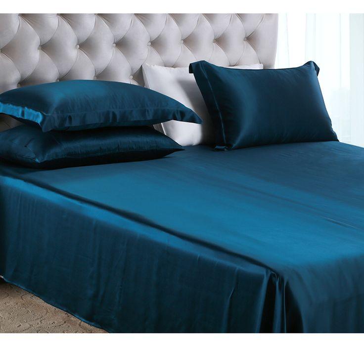 silk luxury bedding silk sheets king set