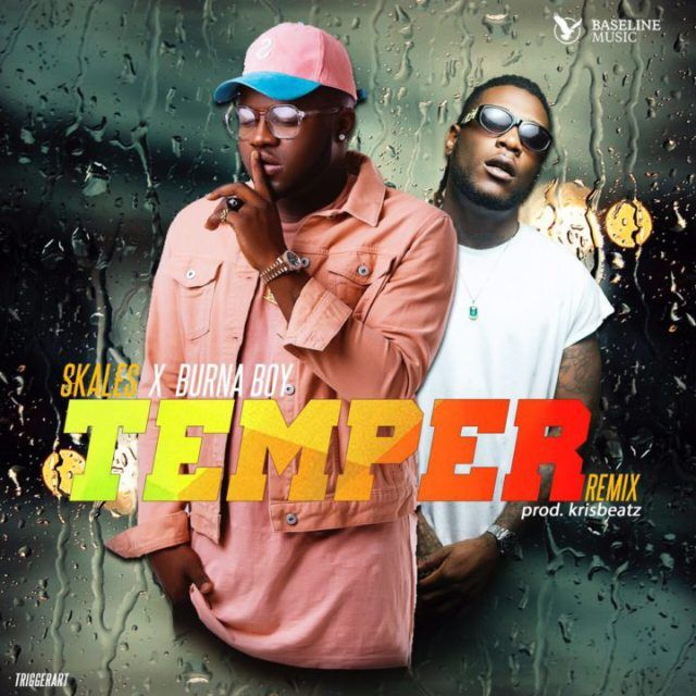 [Music] Skales Ft. Burna Boy  Temper (Remix)   With the original still getting steady spins on radio and televisionBaseline MusicactSkalesdecided to give his latest single  Temperthe remix treatment.  RetainingKrisbeatzon the instrumentalsSkalesenlists Don Gorgon a.k.aBurna Boyfor the remix of Temper and it sure sounds like a winner. This Festive season will sure be lit with this one.  Listen & Download Skales ft. Burna Boy  Temper (Remix) Below;  Audio Player  00:00  00:00  Use Up/Down…