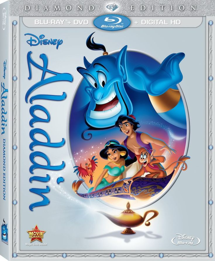 Aladdin arrives on Diamond Edition Blu-Ray with a dazzling video presentation, a spectacular 7.1 surround mix and some fantastic new and old bonus features.