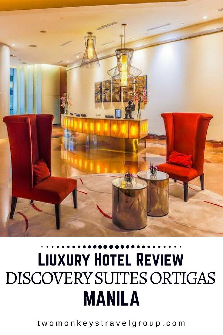 Discovery Suites Ortigas, Metro Manila - Luxury Hotel Review Discovery Suites, Ortigas is strategically located at the Central Business District. It's actually pretty easy to locate. If you are familiar with the Podium, you can find the property just across that. It's hard to miss, really.