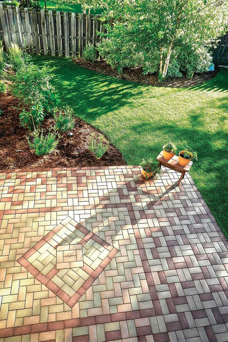 Plant your feet on our AZEK Pavers. These low-maintenance, high-performance pavers look beautiful and are easy to install. Best of all, they're made from up to 95% recycled materials so you'll save installation time while being environmentally friendly. Use our AZEK online tools to plan your perfect patio space.