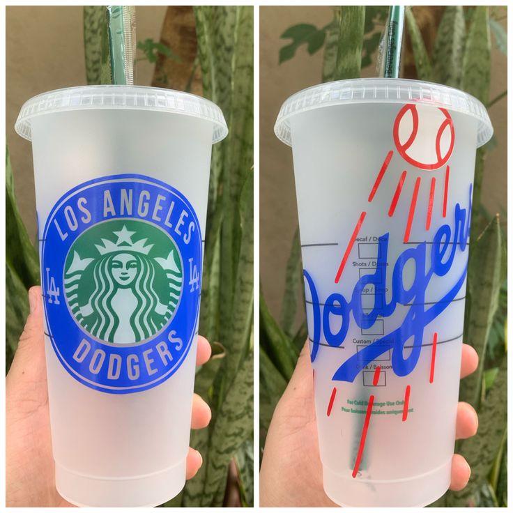 Starbucks Tumbler wplayer|Nice Swing Tumbler Dodger Themed Starbucks Tumbler