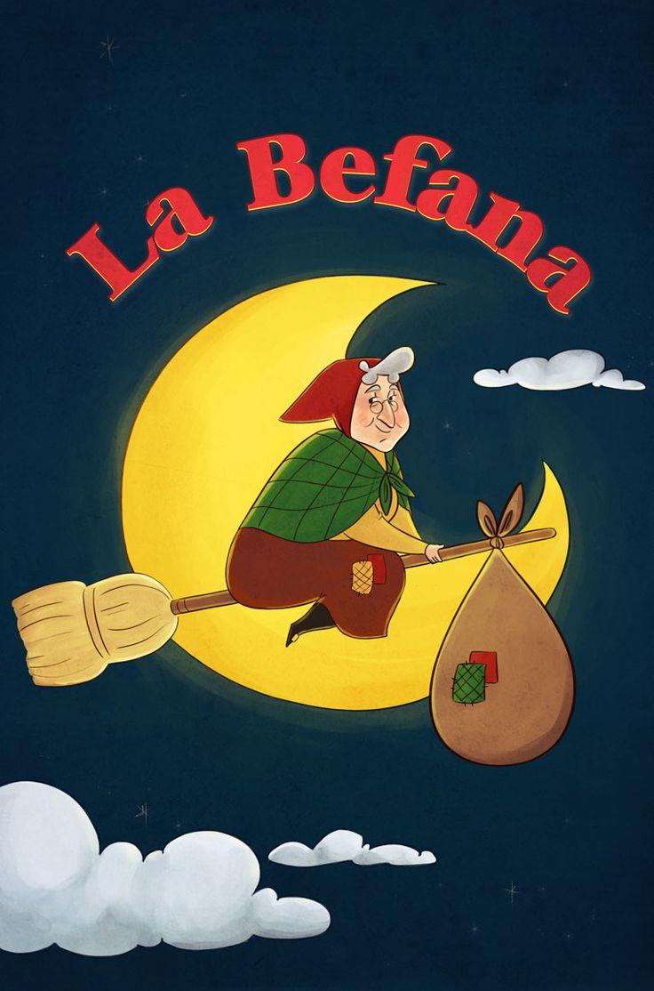 La Befana by Sara Quach.