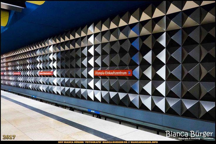 """U-Bahn-Station """"Olympia-Einkaufszentrum"""" - München-Spezial #München #Munich #Bayern #Bavaria #Deutschland #Germany #subway #underground #station #igersgermany #IG_Deutschland #underground_enthusiasts #biancabuergerphotography #metro #shootcamp #pickmotion #architecture #Architektur"""