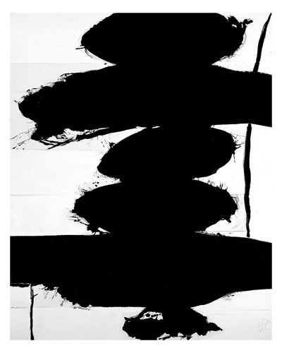 "Robert Motherwell - ""Elegy to the Spanish Republic"" #art #abstract #expressionism"