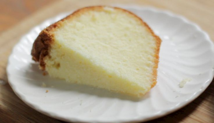 whipping cream pound cake recipe: So light and tender!
