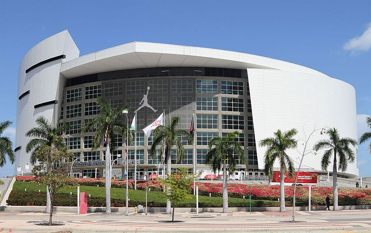 American Airlines Arena, home of the NBA's Miami Heat. http://www.fandctravel.com/current-group/