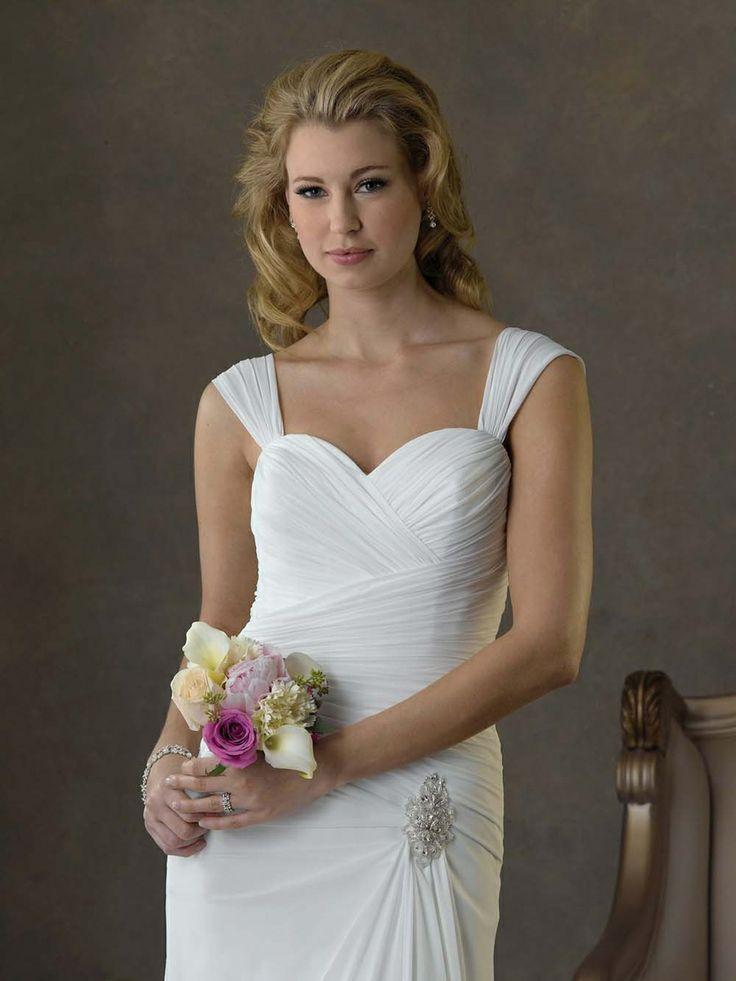 1420 mejores imágenes de Wedding Dresses en Pinterest | Vestidos de ...