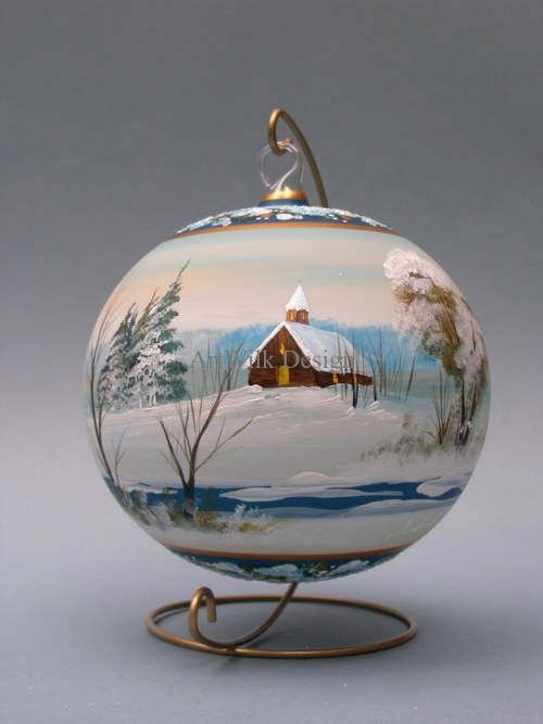 17 best ideas about hand painted ornaments on pinterest for Christmas glass painting