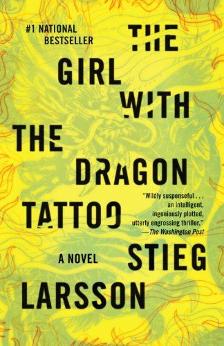 The Girl With the Dragon Tatoo: Hate the cover, enjoyed the book