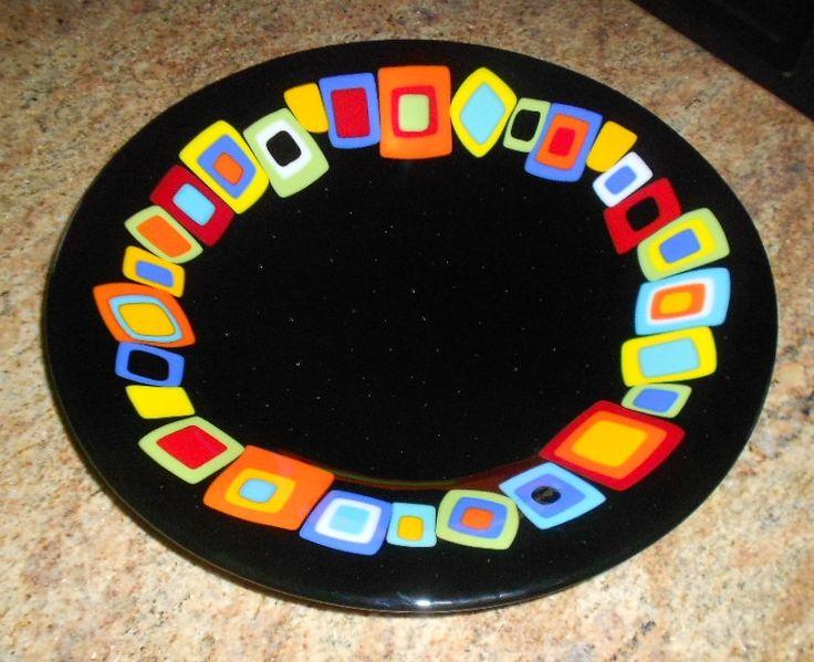 colorblock bowl on black